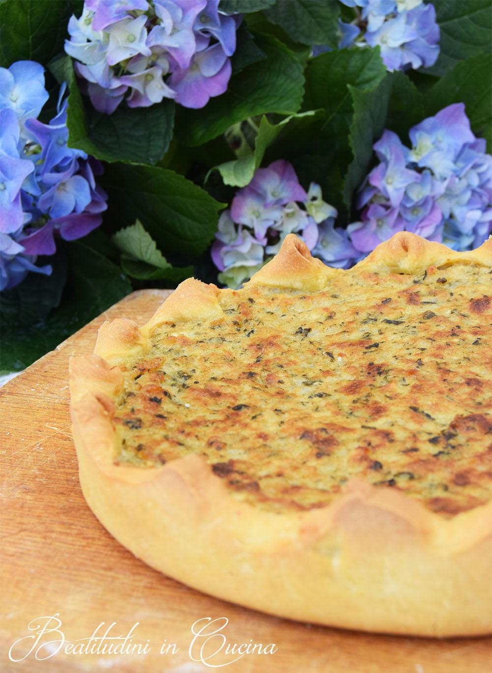 Torta di pepe Camaiore, torta con i pizzi