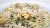 Fusilli asparagi e philadelphia, pasta, primo piatto