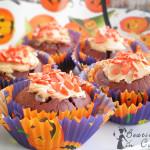Halloween Cupcake al cioccolato