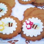 Biscotti miele e zenzero