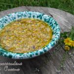 Pesto di fiori di zucca