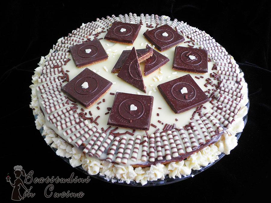 torta con ganache al cioccolato