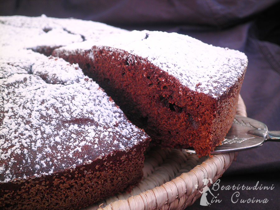 Torta al cioccolato fondente Bimby