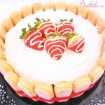 Torta fragole e mascarpone