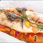 Pesce al cartoccio con le verdure