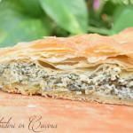 Spanakopita: pita con spinaci e feta