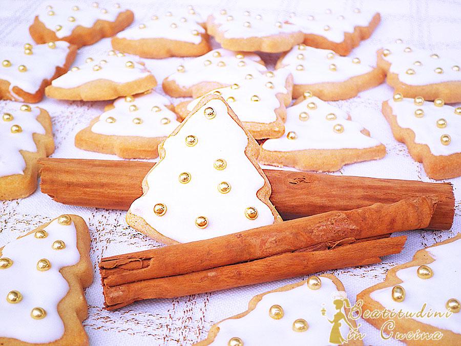 Biscotti arancia e cannella