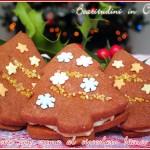 Biscotti con crema al cioccolato bianco