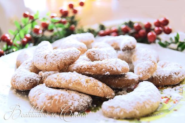 Kourabiedes biscotti grechi