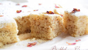 white rose tea cake