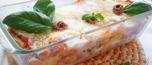 ricetta dello sformato di pane e mozzarella