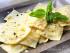 Ravioli al pecorino, basilico e limone
