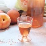 Liquore ai noccioli di pesca, rosmarino e cannella #seguilestagioni