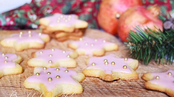 Biscotti glassati all'arancia