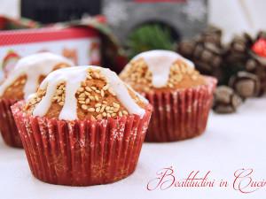 Muffin arancia e sesamo