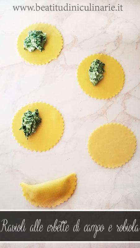 pasta fresca ravioli erbette e robiola