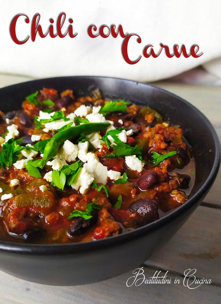 chili con carne ricetta originale tex mex texas