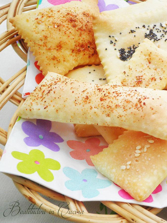 Crackers a lievitazione naturale