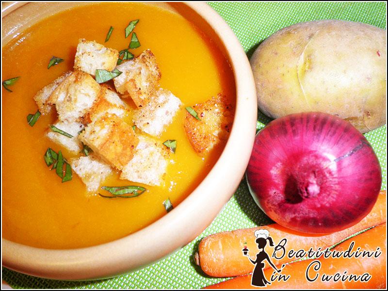 Vellutata di carote e patate con Bimby