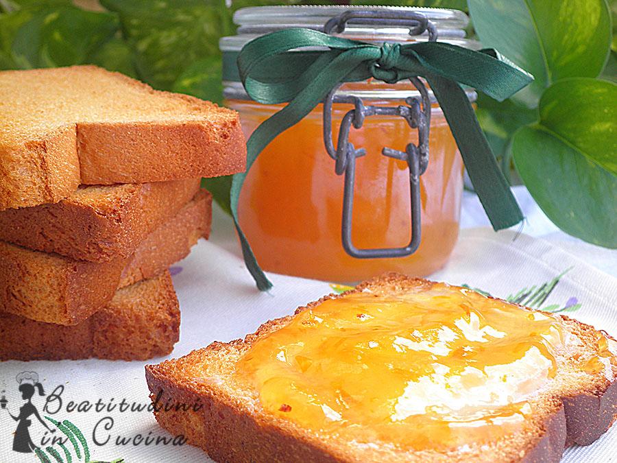 Confettura di susine gialle, miele e limone