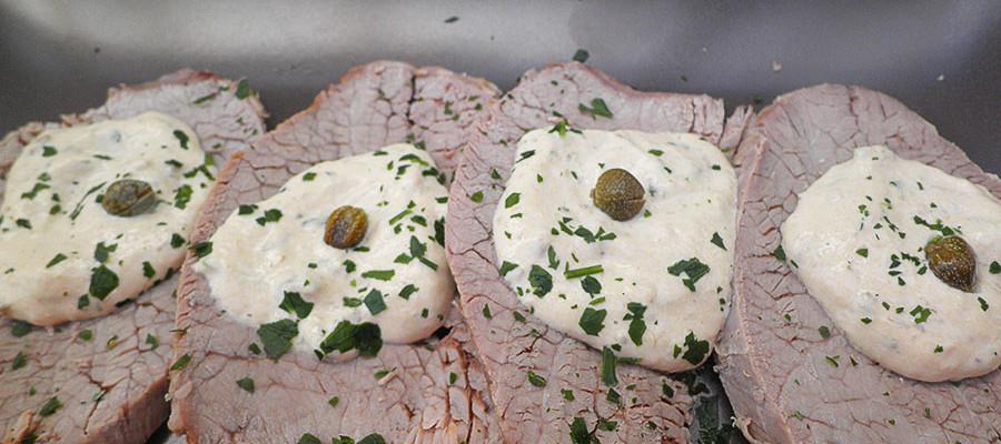 Vitello tonnato Vitel tonnè ricetta piemontese