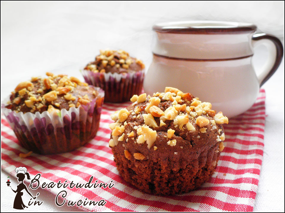 muffin gluten free al cioccolato