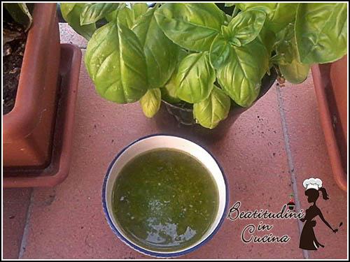 Pesto genovese homemade