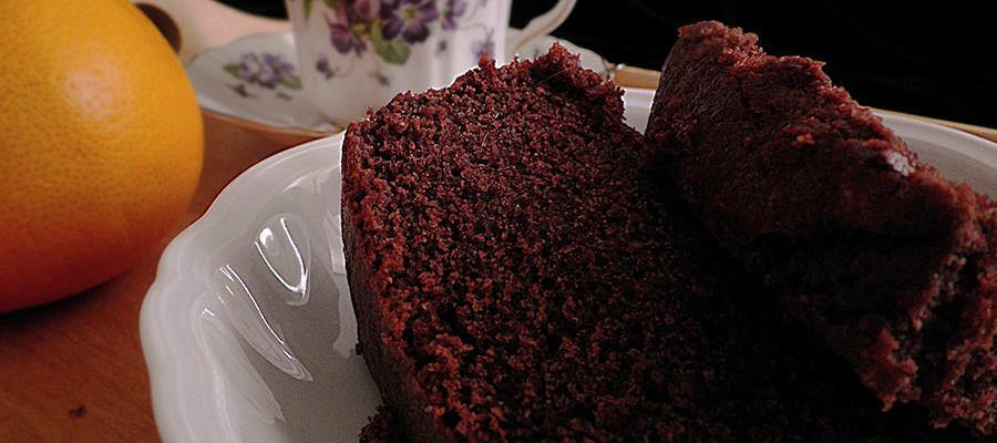 torta all'acqua e cacao bimby