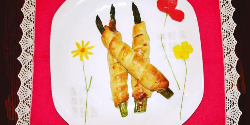 Sfoglie di asparagi