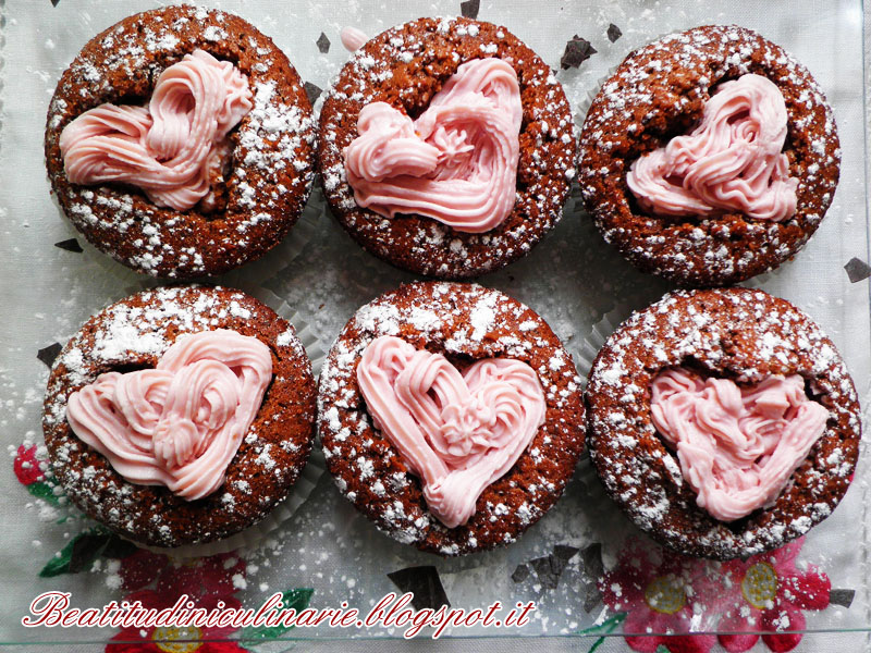 Cupcakes cioccolato e amarena