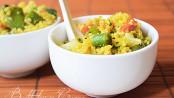 Cous cous alle verdure vegetariano vegano
