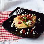 Lonza ripiena di feta e pomodorini secchi