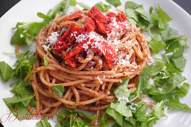 Spaghetti molche e pomodorini