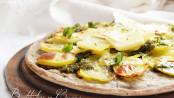 Focaccia pesto e patate