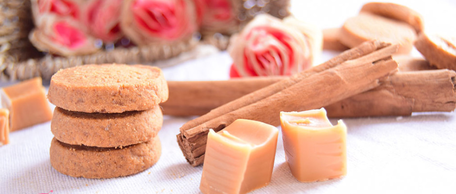 biscotti al caramello e cannella