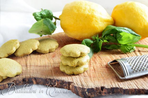 Biscotti basilico e limone