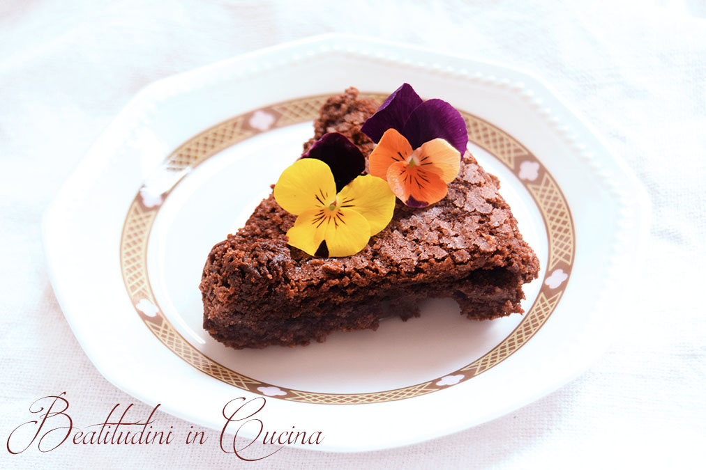 Torta cioccolato e caffè Bimby