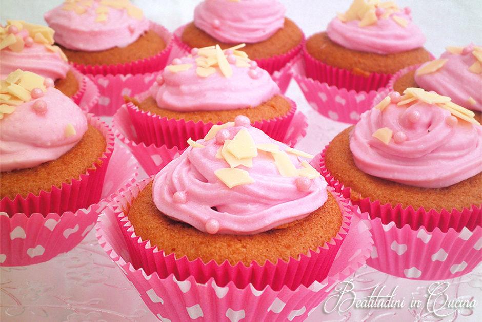 Cupcake al lampone