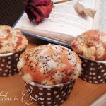 Muffin rose e fichi