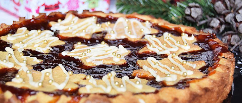 Crostata arancia e cannella