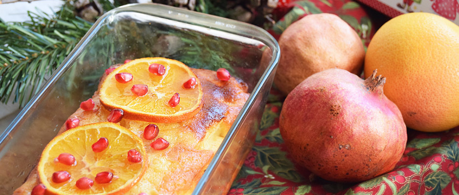 Portokalopita torta greca all'arancia