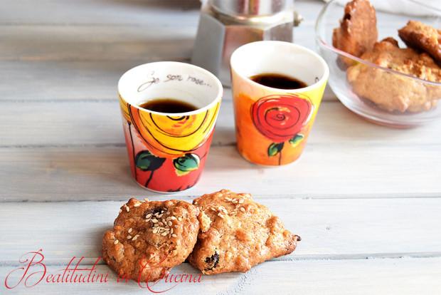 Biscotti al farro soffiato