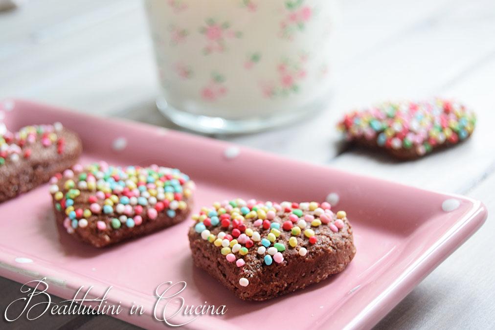 Biscotti latte di cocco e cacao