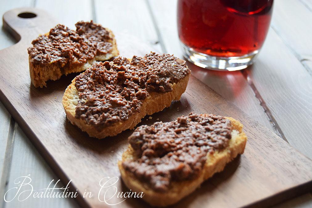 Crostini di fegatini toscani ricetta originale for Ricette toscane