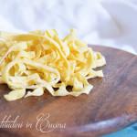 Pasta fresca rustica Bimby