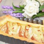 Torta salata pere e camembert #seguilestagioni