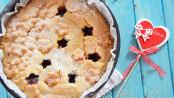 Strawberry pie crostata ripiena di fragole