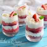 Tiramisù yogurt greco e fragole #seguilestagioni