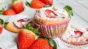 Muffin ricotta e fragole