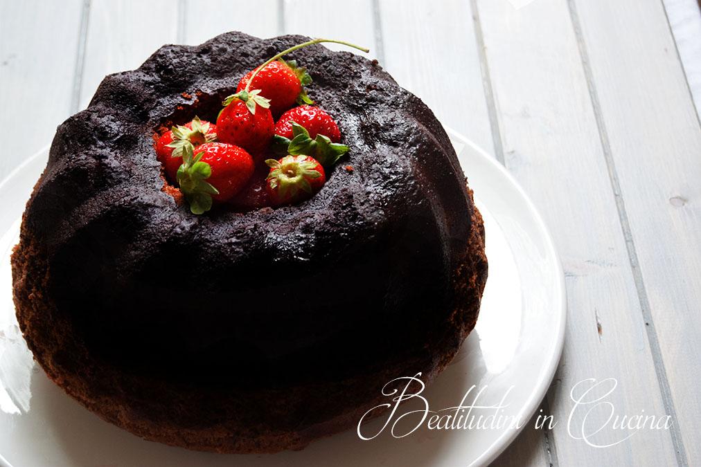 Bundt cake al cioccolato fondente